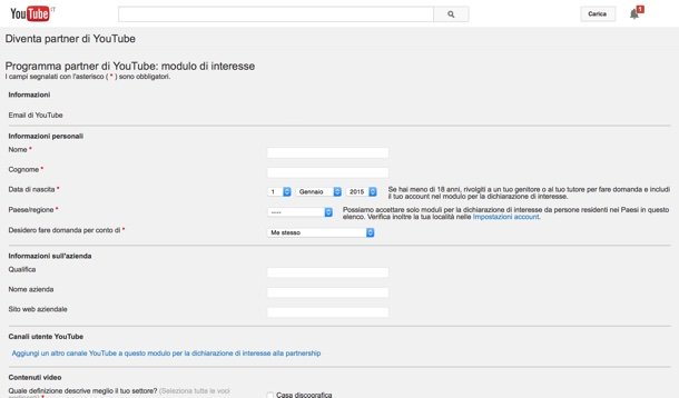 come fare soldi con youtube guida